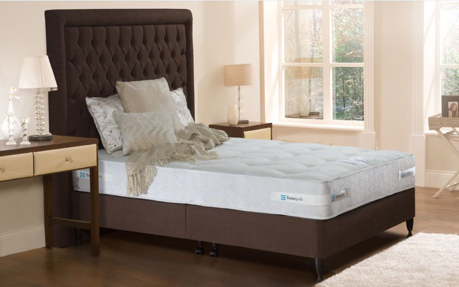 Sealy keswick firm contract divan bed mattress online for Double divan bed with firm mattress