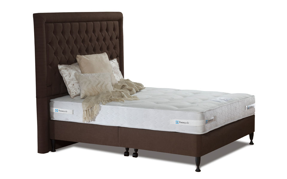 The Sealy Keswick Firm Contract Divan Bed, complete with a supportive, firm mattress