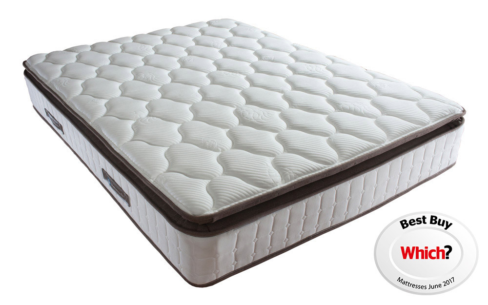 Sealy Nostromo Posturepedic Pocket 1400 Latex Mattress, Single