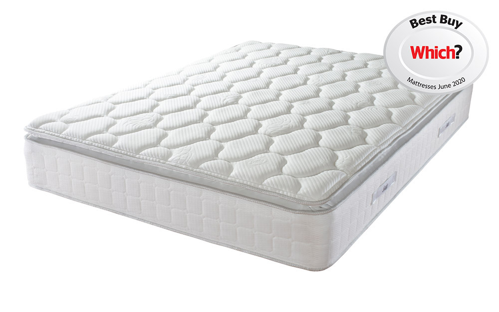 Sealy Posturepedic Nostromo Latex 1400 Pocket Pillow Top Mattress, Single