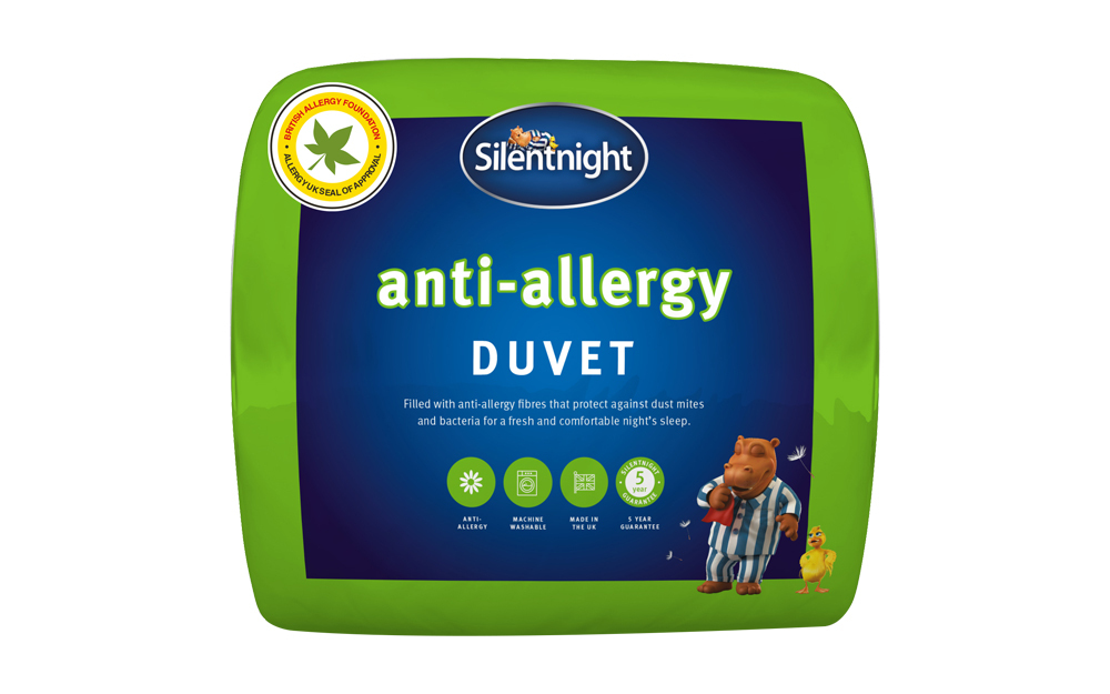 Silentnight 4.5 Tog Anti-Allergy Duvet
