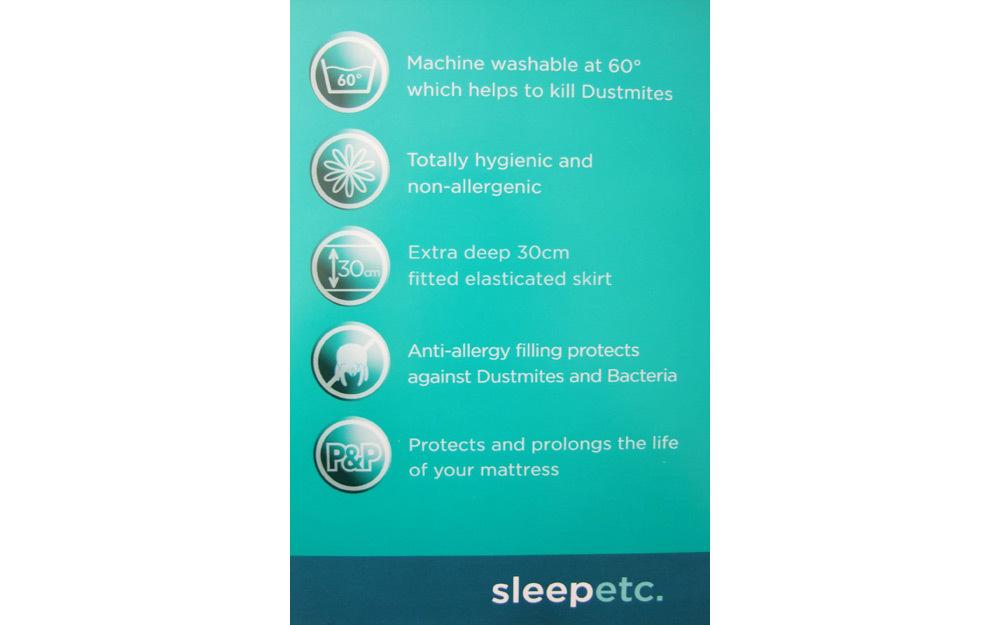 Zip Link Beds >> Silentnight Anti-Allergy Mattress Protector - Mattress Online