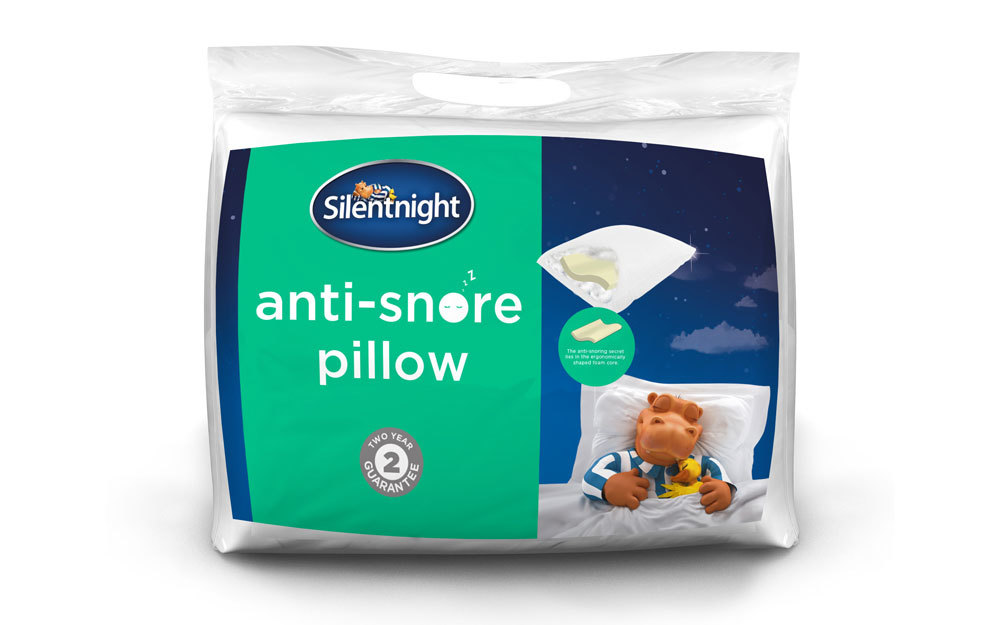 Silentnight Anti-Snore Pillow, Standard Pillow Size for £15.99