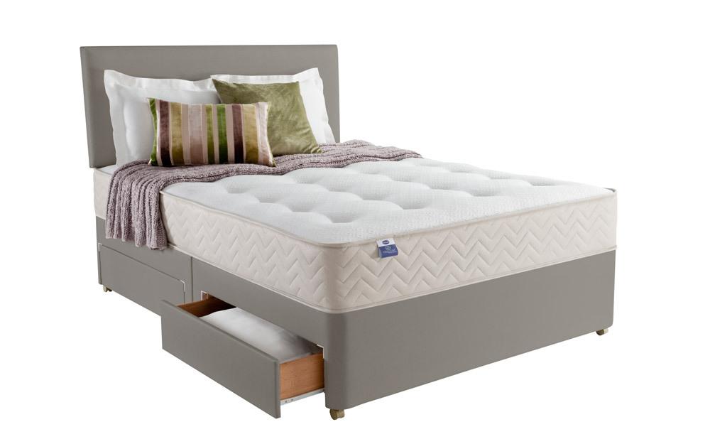 silentnight atlanta 1000 mirapocket divan mattress online. Black Bedroom Furniture Sets. Home Design Ideas