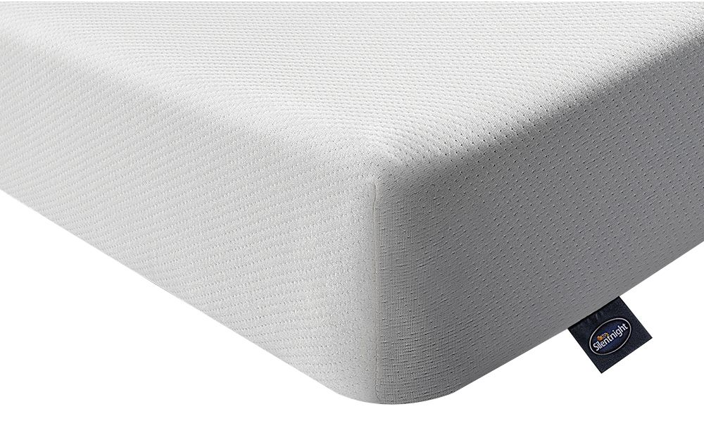 The Silentnight Comfortable Foam Mattress is a soft-medium feel mattress with reflex foam