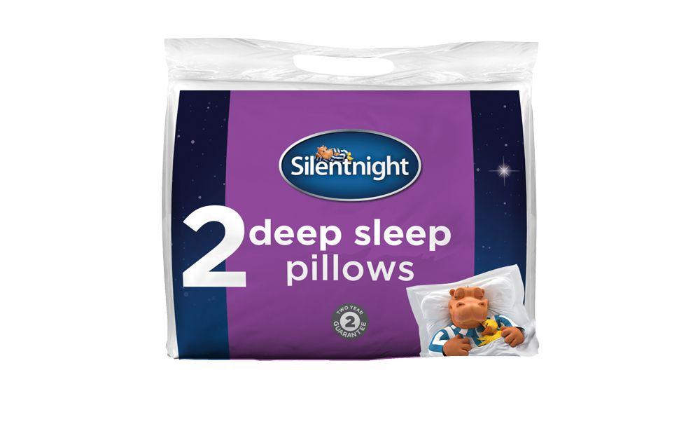 Silentnight Deep Sleep Luxury Pillow Pair
