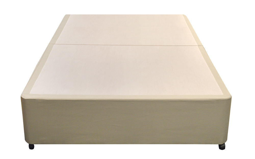 Silentnight sandstone divan base mattress online for Silentnight divan