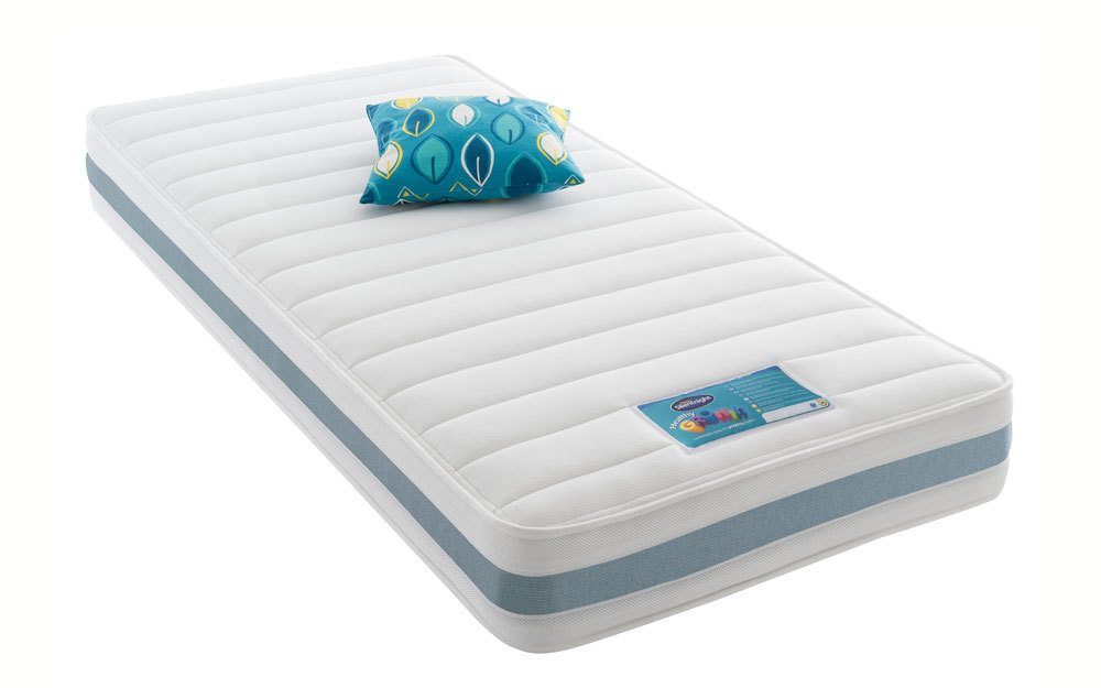 Image of Silentnight Dream Explorer Healthy Growth Mattress - Blue, Small Double