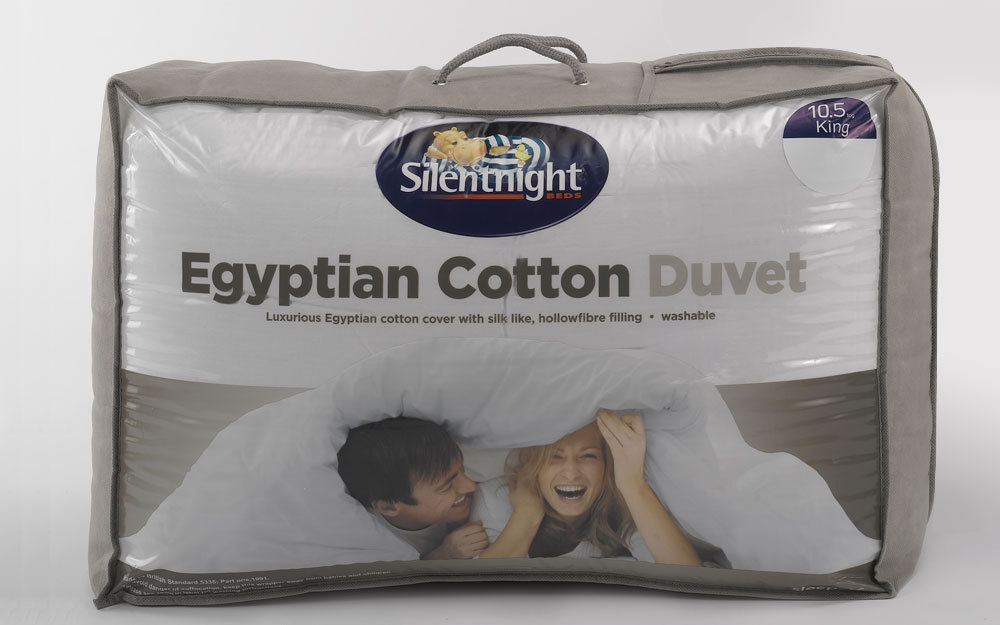 Silentnight 4.5 Tog Egyptian Cotton Summer Duvet