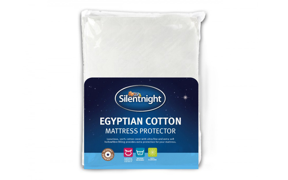 Silentnight Egyptian Cotton Mattress Protector