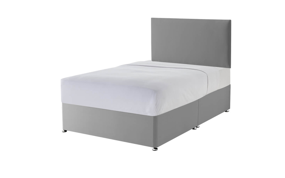 The Silentnight Slate Grey Divan Base
