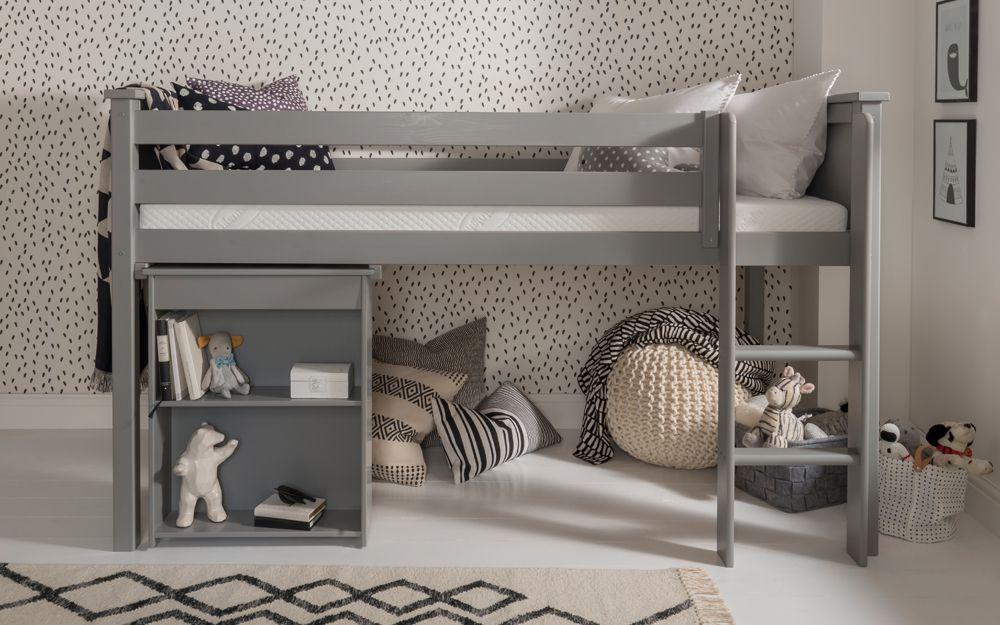 Silentnight high-sleeper bed in grey
