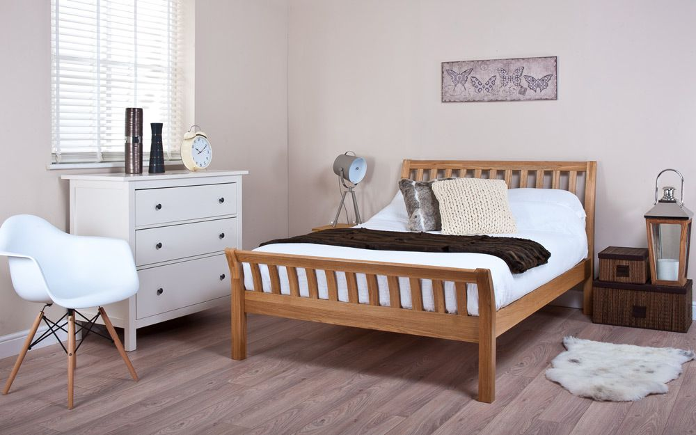 Silentnight Lancaster Oak Bed Frame