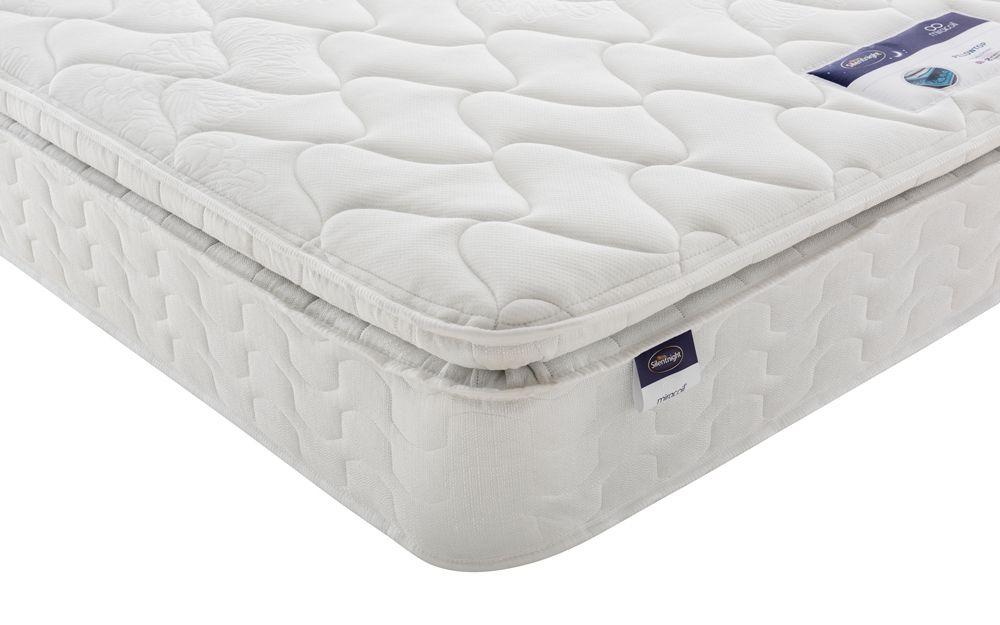 silentnight miracoil pillow top mattress mattress online. Black Bedroom Furniture Sets. Home Design Ideas