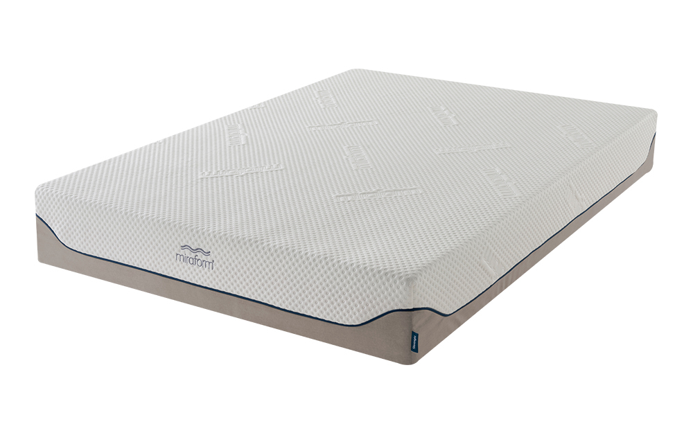 Silentnight Miraform Geltex & Memory Mattress, Single