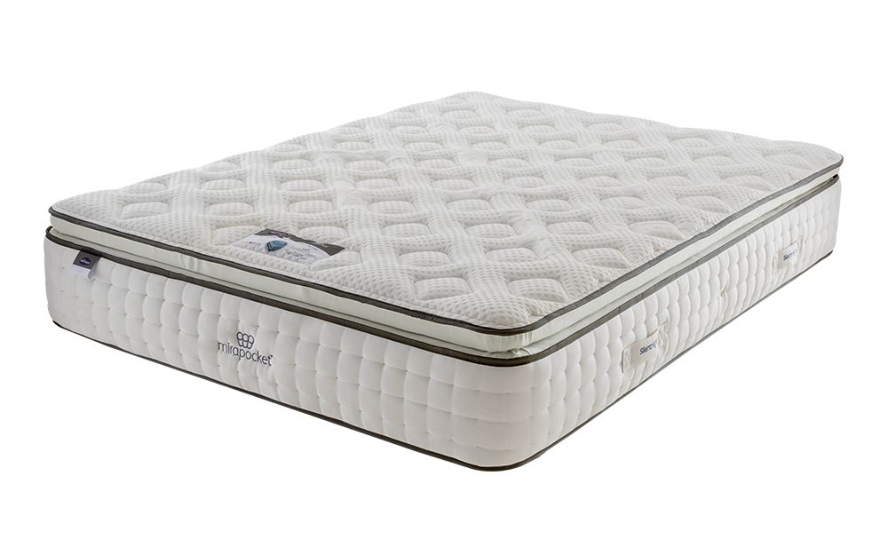 Silentnight Mirapocket 1000 Geltex Pillow Top Limited Edition Mattress, Single