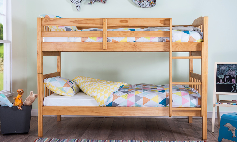 Silentnight Pippin Bunk Bed - Natural, Single