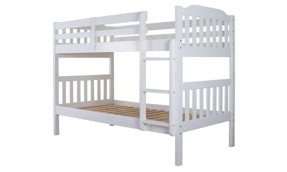 Silentnight Pippin Bunk Bed White Mattress line