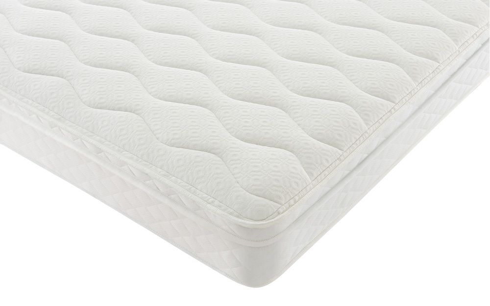 Silentnight Rio Miracoil Cushion Top Mattress, Single