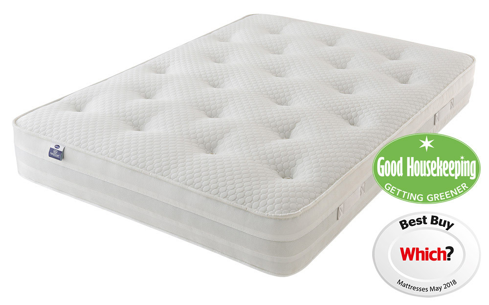 The Silentnight Sofia 1200 Mirapocket Mattress is a supportive pocket sprung mattress