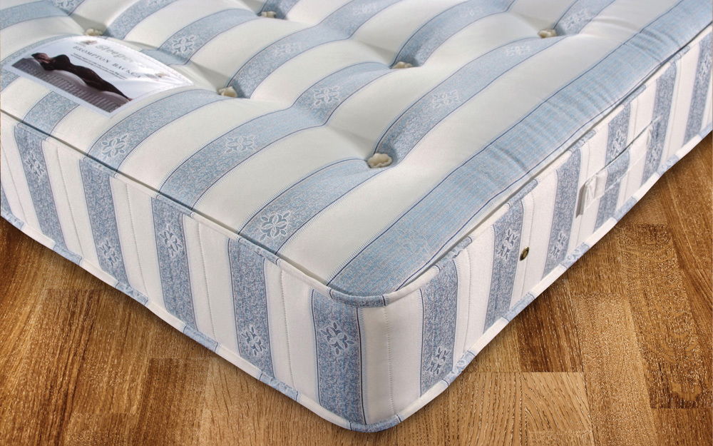 The Sleepeezee Backcare Deluxe 1000 Pocket Mattress is a firm orthopaedic mattress