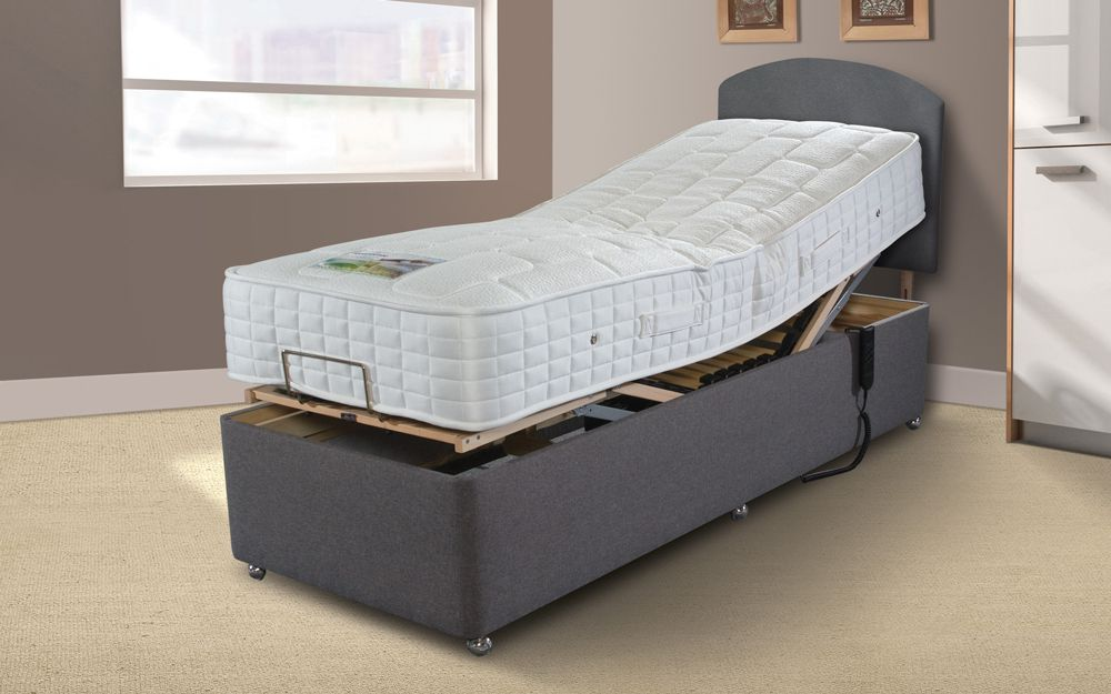 Sleepeezee Gel Comfort 1000 Adjustable Divan Bed
