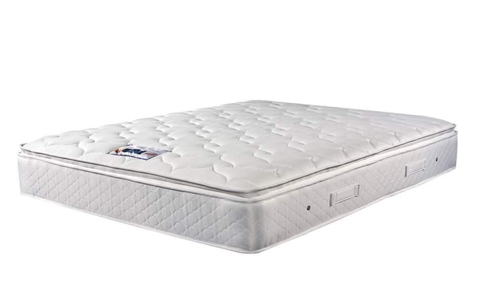 Sleepeezee Memory Comfort 1000 Pocket Pillow Top Mattress offers luxury memory foam comfort and support