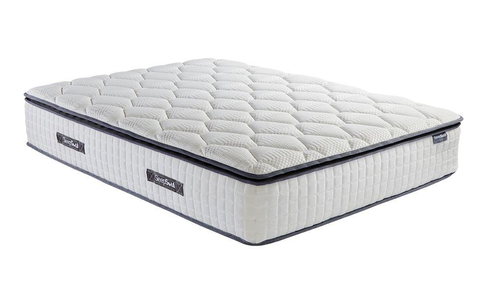 The SleepSoul Bliss 800 Pocket Memory Pillow Top Mattress