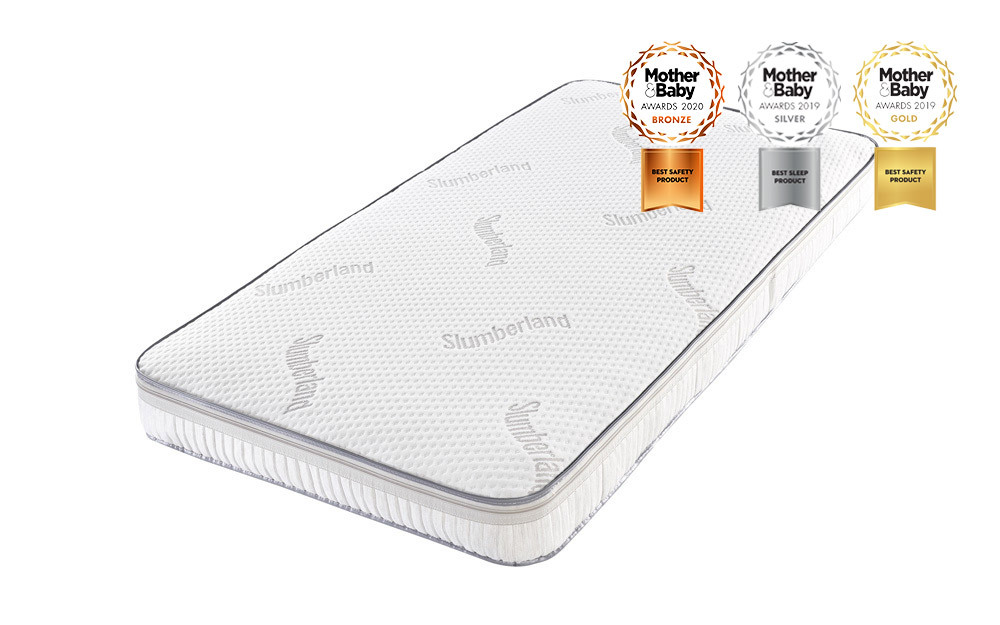 Slumberland Luxury Pocket Sprung Cot Bed Mattress, Continental Cot Mattress