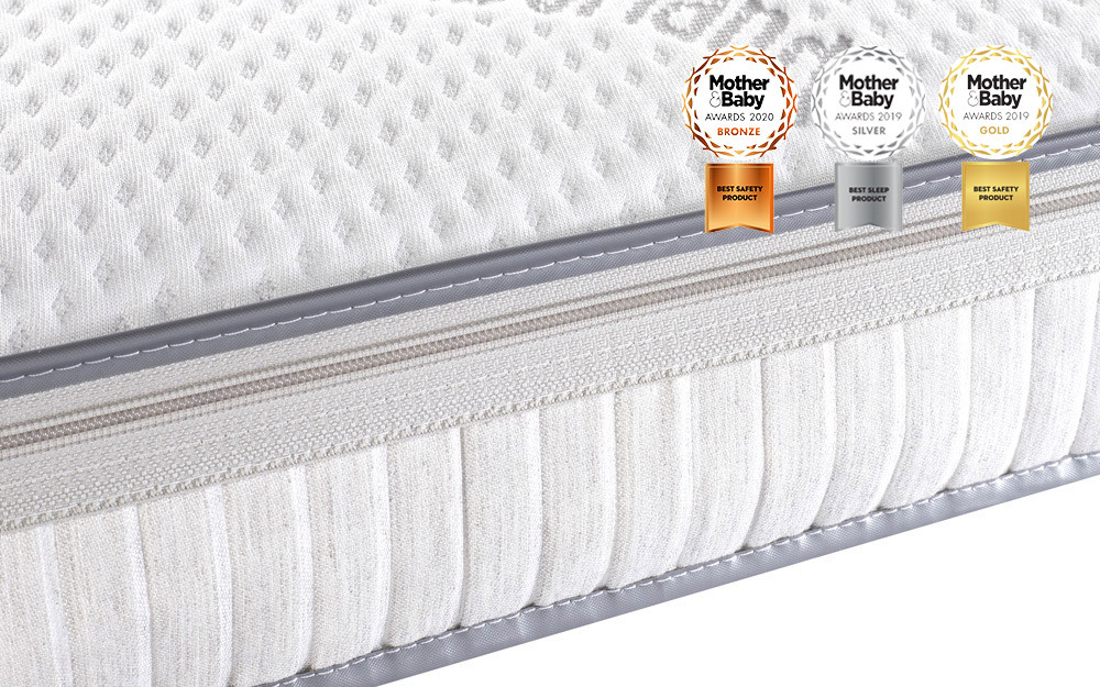finest selection 314ad d74ae Slumberland Luxury Pocket Sprung Cot Bed Mattress, Continental Cot Mattress