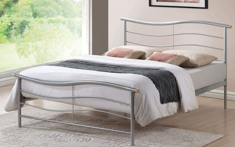 Time Living Waverley Metal Bed Frame, Double
