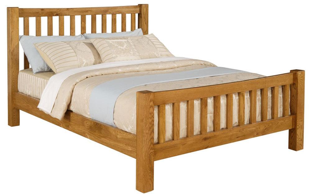 Time Living Denver Wooden Bed Frame Mattress Online