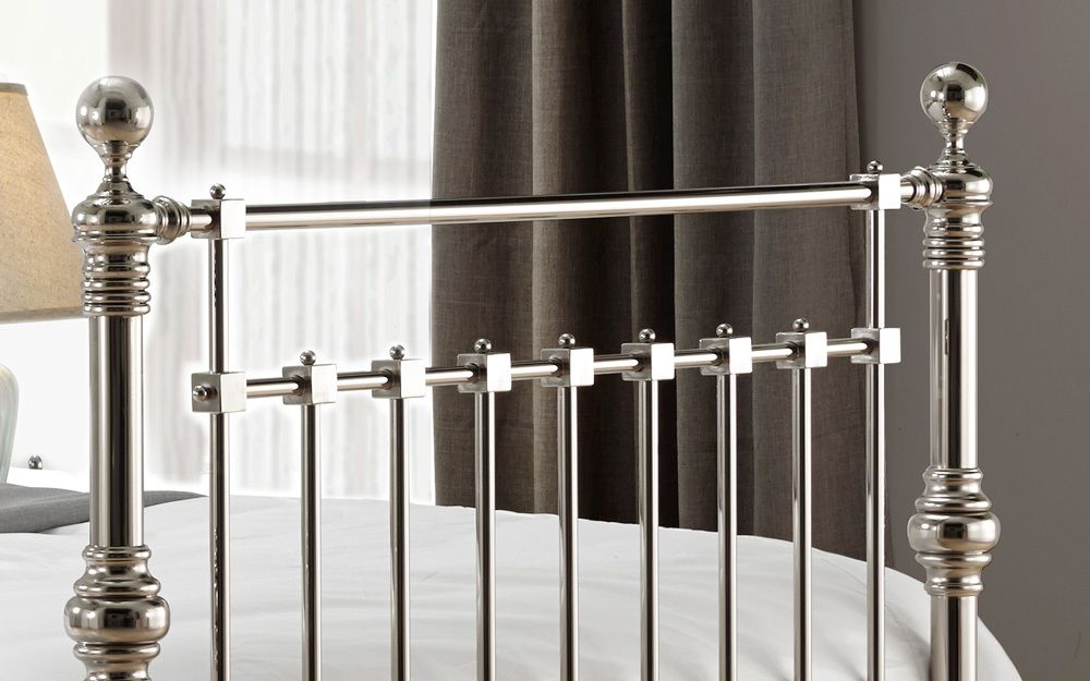 Zip Link Beds >> Time Living Edward Metal Bed Frame - Mattress Online