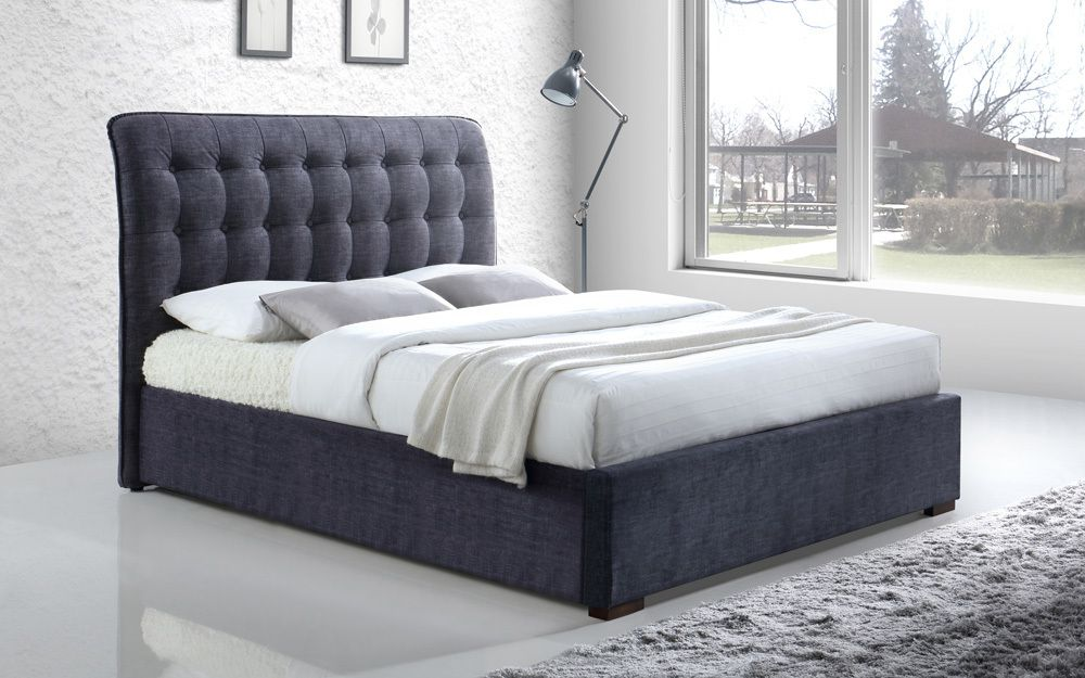 Time Living Hamilton Fabric Bed Frame Mattress Online