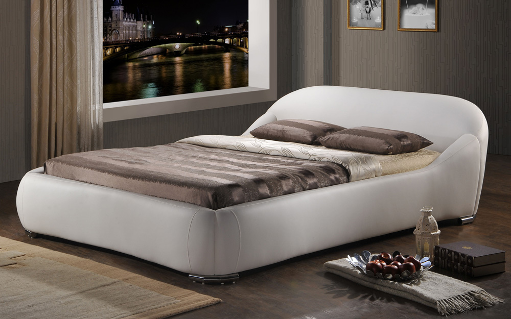 Time Living Manhattan Faux Leather Bed