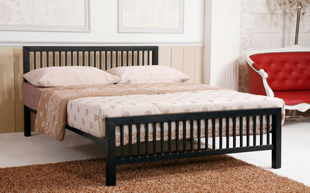 Time Living Meridian Metal Bed Frame - Mattress Online