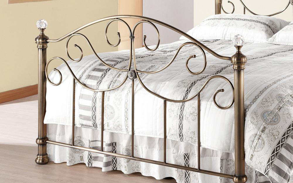 Time Living Victoria Metal Bed Frame Mattress Online