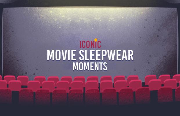 Iconic Movie Sleepwear Infographic