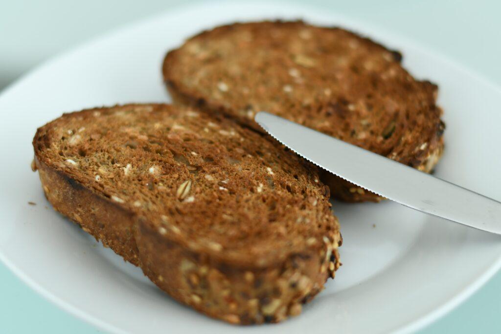 Whole grain toast
